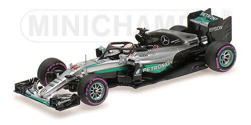 MINICHAMPS - MERCEDES AMG PETRONAS F1 W07 HYBRID SINGAPORE GP 2016 Hamilton 1 43