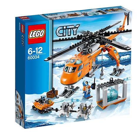 LEGO città 60034 Artico  ELICOTTERO ELICOTTERO con cani da slitta NUOVO OVP  n ° 1 online