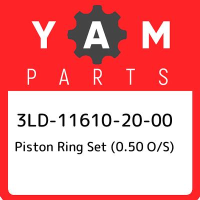 NOS OEM Yamaha Piston Ring Set O//S 0.50 1972-73 DT2//3 250 RT2//3 360 311-11610-20