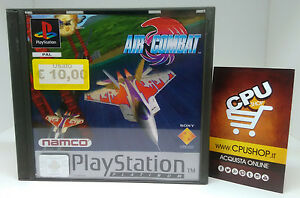 PlayStation-1-AIR-COMBAT-by-Namco-Buone-Condizioni-Testato