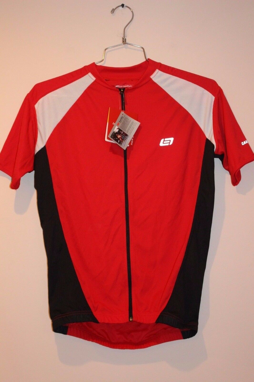 Bellwether Pro Mesh Men's Cycling Jersey Size LARGE FERRARI RED 91183064 NEW