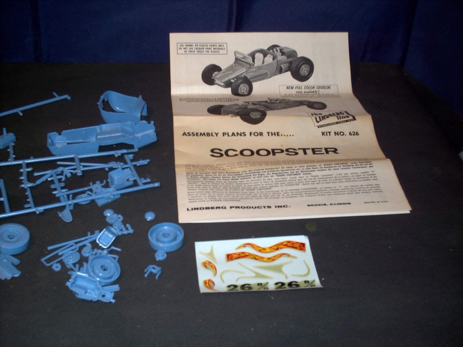 Modell - kit scoopster hot rod