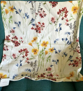 Nwt Pottery Barn Maggie Floral Print Pillow Cover Sham