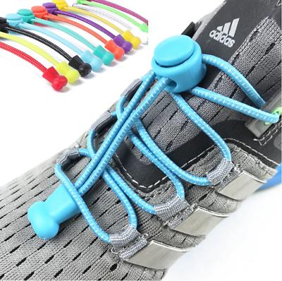 Amabile Lacets De Rechange élastique Remplacement Pratique Bouton Clips Running Course Grande Assortimento