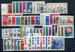 DDR-Jahrgang-1961-postfrisch-MNH-jede-MiNr-1x
