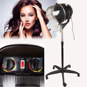 Ridgeyard-Portable-Salon-Hair-Hood-Dryer-Stand-Up-Hairdresser-Styling-Black