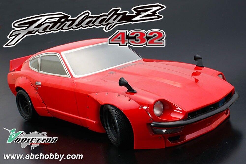 ABC-Hobby Nissan Fairlady PANDEM Z432 Karosserie-Set 1 10 mit Add. PANDEM(66194)