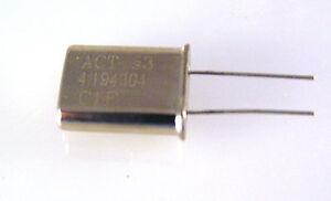 X9 Acto Ltd 28.64 MHz HC49//U Cristal OM1119 10 piezas