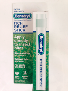 Details about BENADRYL EXTRA STRENGTH ITCH/PAIN RELIEF STICK 0 47fl oz   (14ml) FAST FREEPOST