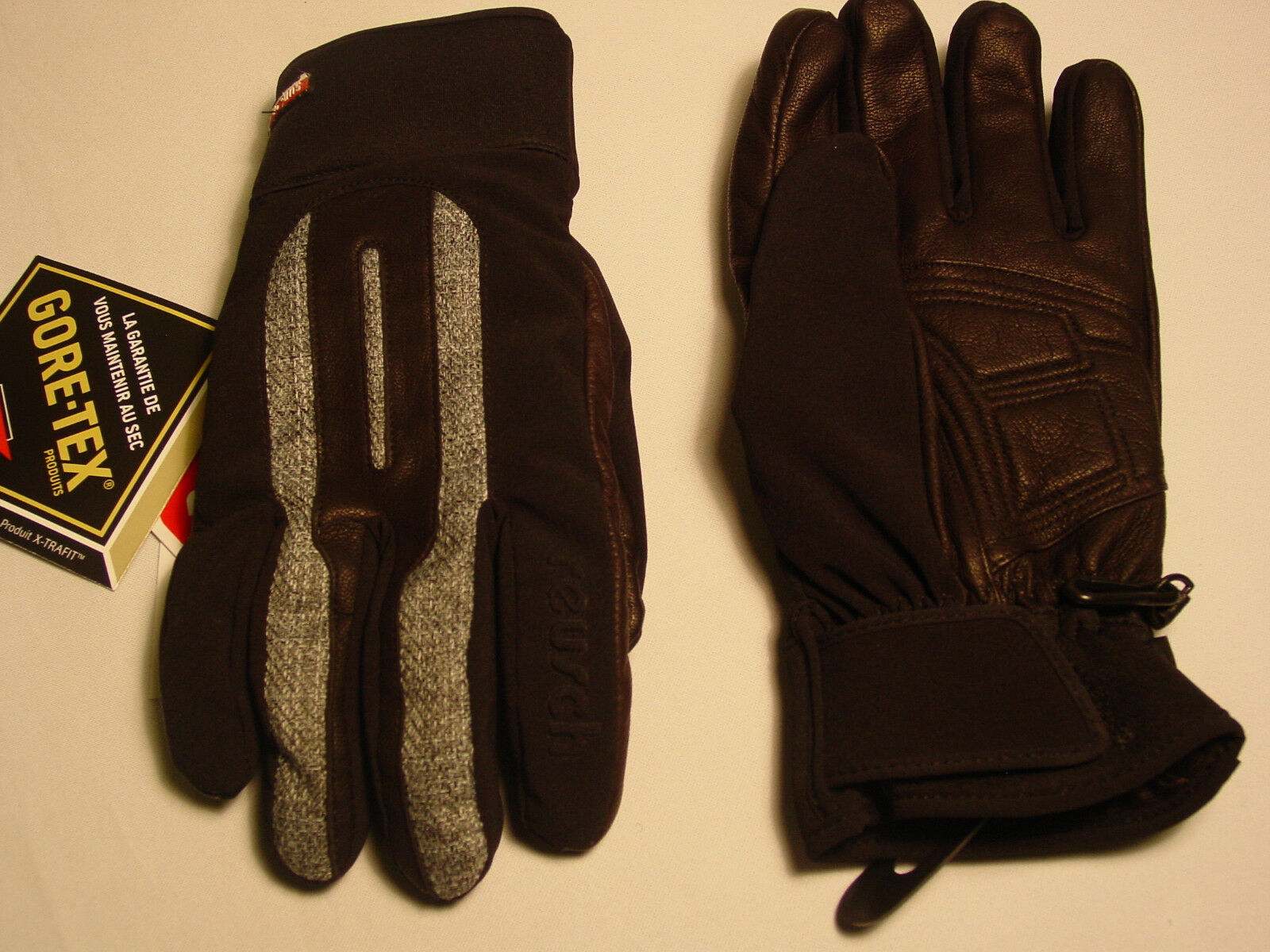 New Reusch Ski GoreTex  Leather & Softshell G s  Medium (8.5) Arco  lightning delivery