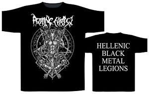 T-shirts Rotting Christ Hellenic Black Metal Legions T-shirt