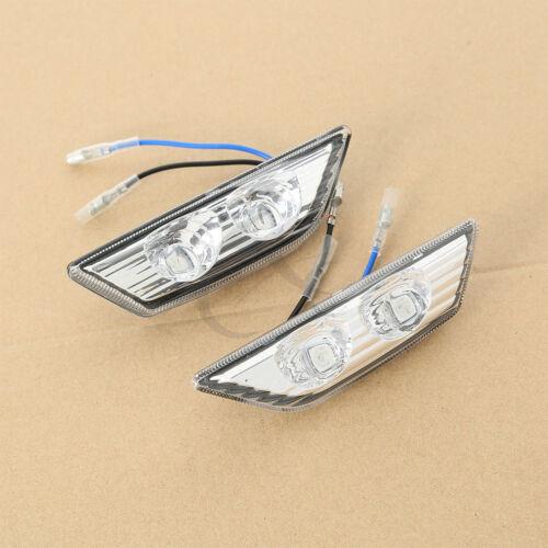 Turn Signal Indicators For 11-15 Kawasaki Ninja ZX10R ZX-10R Rearview Mirrors