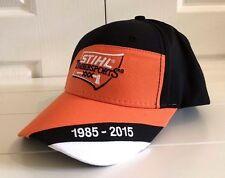 Stihl Timbersports Orange & Black Hat Cap Adjustable