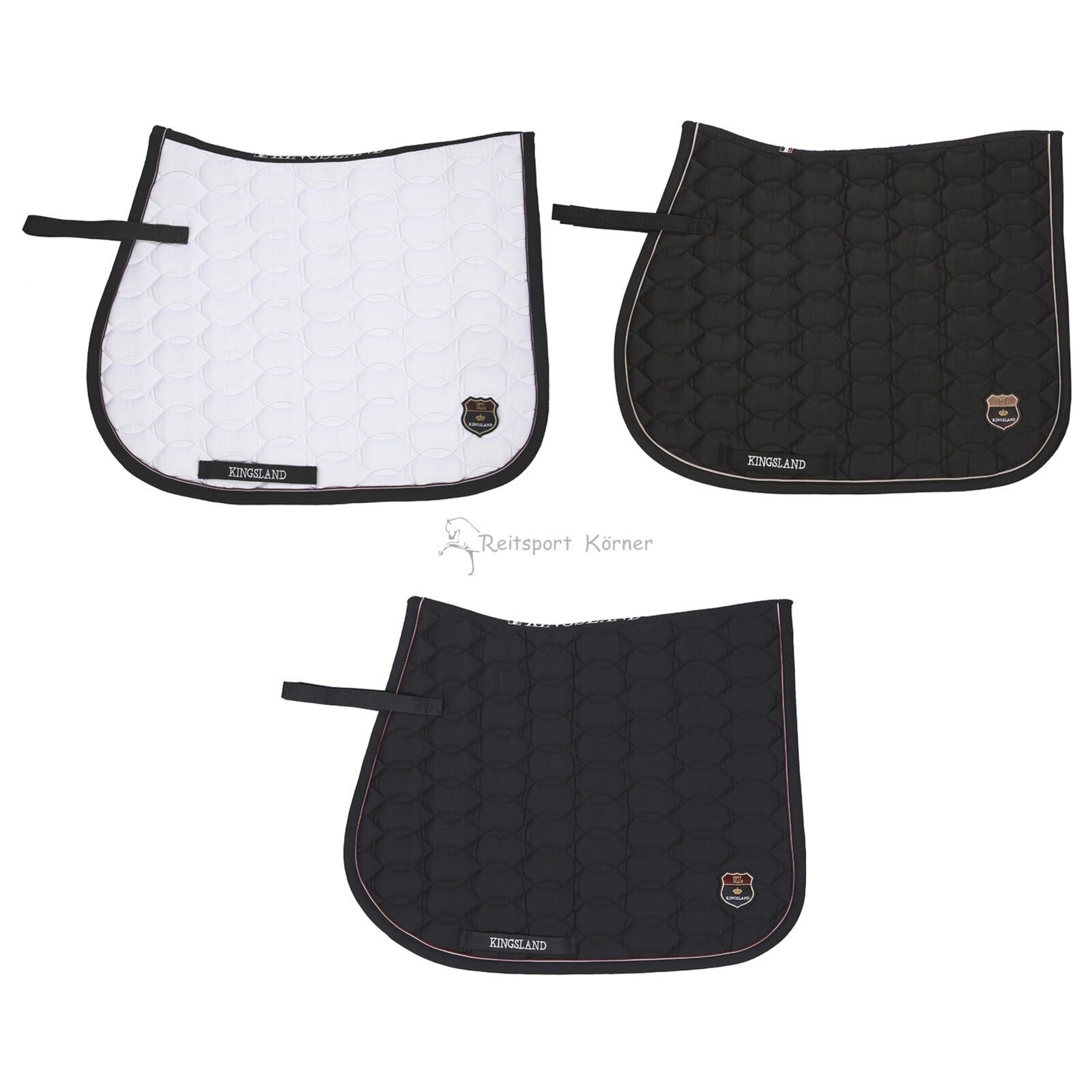 Kingsland decrépita  kasper , Saddle Pad con KL-Patch