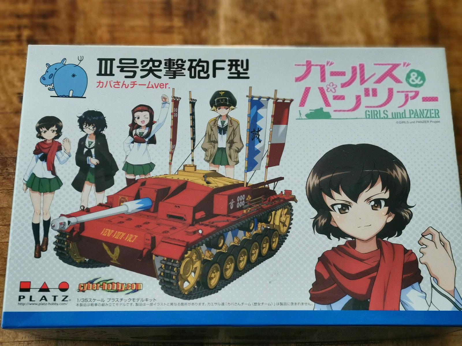 1 35  Girls und Panzer  Panzer StuG III Bausatz  (Platz - Dragon)
