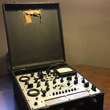Vintage Antique Tube Tester Hickok 539C With Case