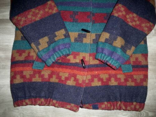 Toggle della Jacket La 12 indiana di Wool lana giacca New donne Jacket York ragazza delle Size di Duffle 6rwx6
