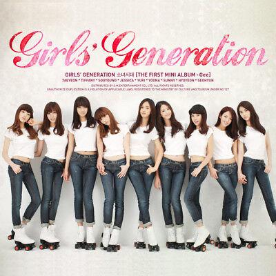 SNSD GIRLS' GENERATION [GEE] 1st Mini Album CD+Photobook K-POP SEALED