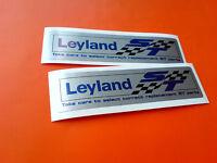 BRITISH LEYLAND ST Parts Classic Retro Car Decals Stickers 2 off 100mm