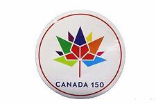 "CANADA 150 YEAR ANNIVERSARY 1867-2017 ROUND SHAPE 6 1/4"" INCH STICKER"