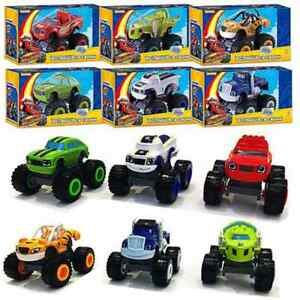 6Pcs-Blaze-and-the-Monster-Machines-Vehicles-Plastic-Toys-Racer-Cars-Trucks-Kid