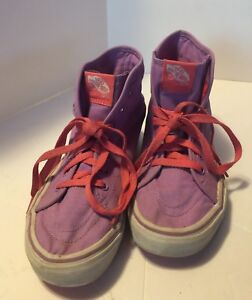 8e3569feb457 Vans Purple Hightop Canvas Sneakers Junior Size 4 Women s Size 5.5 ...