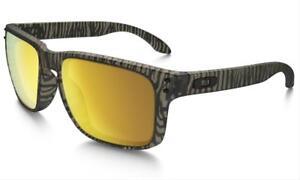 c8d8a24e27 NEW Oakley Holbrook Urban Jungle Matte Sepia   24K Gold Iridium ...