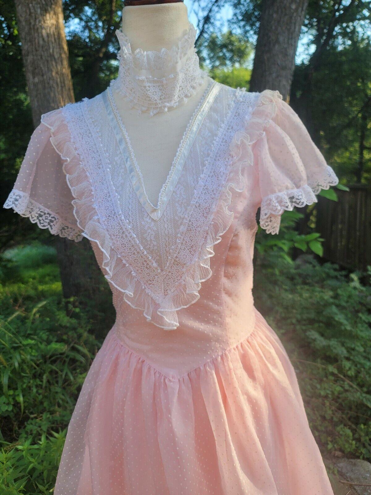 Vintage Gunne Sax Dress 9 princess Gunne Sax Swis… - image 6