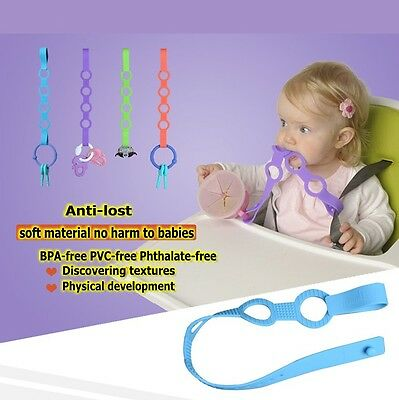 Baby Kids HighChair Stroller Pram Pushchair Carriage Wrist Toys Link Band Strap