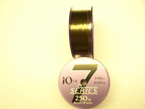 Monofil Drennan Serie 7 Schnur auf 250 Meter Spule 0,20////0,30 mm excellent