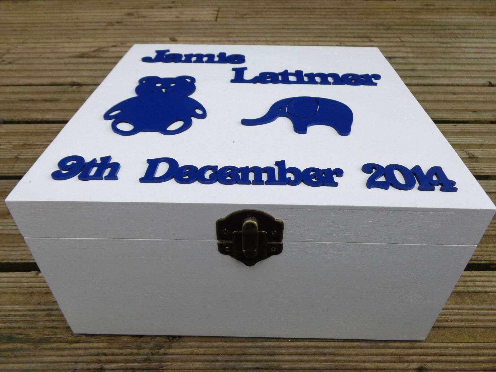 Mybabylog Baby Memory Keepsake Box for Girls and Boys
