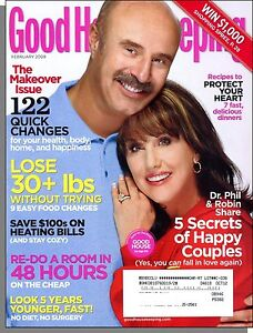 Image is loading Good-Housekeeping-2008-February-The-Makeover-Issue-122-