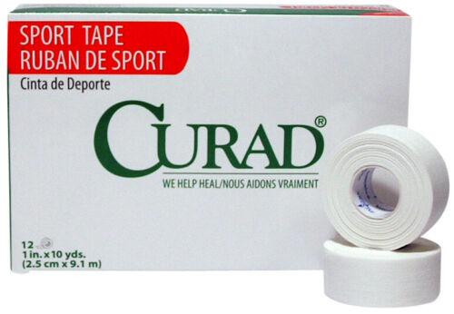 "MS15250 Dynarex #3587 White Porous Adhesive Tape Non-sterile 1/"" x 10 Yds 6 Rls"