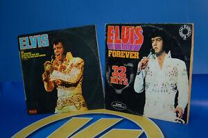 DISCOS-LPs-vinilos-ELVIS-FOREVER-doble-LP-y-ELVIS-recopilatorio