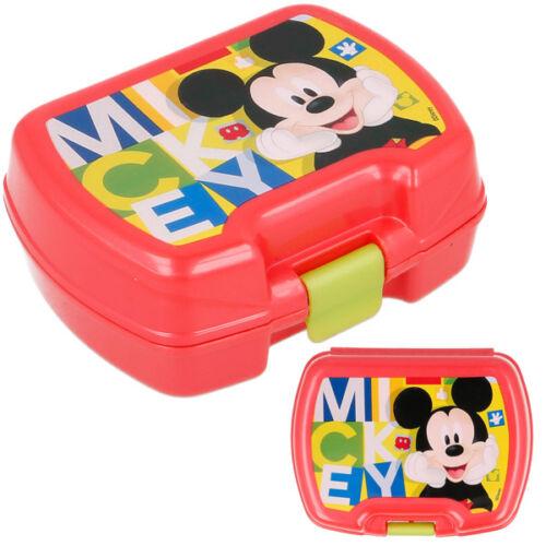 Minidose Sandwichbox Lunchbox Obstdose 11cm Rot Disney MICKY MAUS