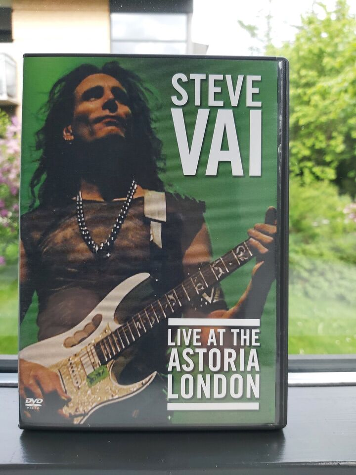 Steve Vai - Live At The Astoria London, DVD, andet
