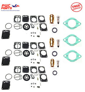 POLARIS MIKUNI Carburetor Rebuild Kit Needle Seat Carb Base Gasket 94-95 SLT 750