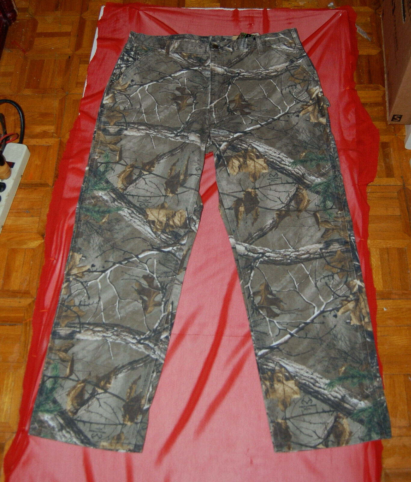 NWT CARHARTT WorkCamo Realtree AP Dungaree Pants B235 IRR 40 x 32 or 42 x 30 USA