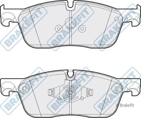 Brake Pads Set fits RANGE ROVER VELAR L560 2.0D Front 2017 on Brakefit Quality