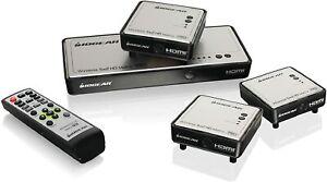 Iogear-Wireless-HDMI-Matrix-Transmitter-amp-3-Receiver-Kit