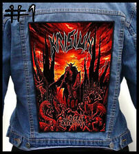 KRISIUN   --- Huge Jacket Back Patch Backpatch --- Various Designs