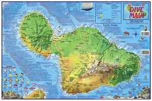 Details about Maui Hawaii Dive & Snorkeling Guide Map Laminated Poster on maui sightseeing map, maui state parks map, maui kayak map, maui hikes map, maui road map, big beach maui map, maui beaches map, turtle bay maui map, maui rainfall map, maui condo map, west maui map, maui golf map, black beach maui map, coral gardens maui map, maui restaurants map, maui travel map, south maui map, maui hiking map, turtle town maui map, maui location on map,