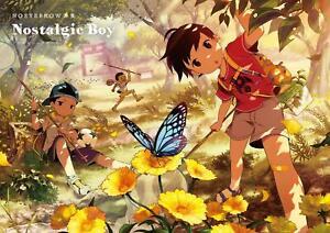 034-NEW-034-NOEYEBROW-Art-Book-Nostalgic-Boy-JAPAN-Illustration-Artworks-Shota