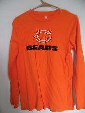 Chicago Bears NFL Pro Line Women Orage Crew-Neck Long Sleeve T-Shirt - 4baaf08ac
