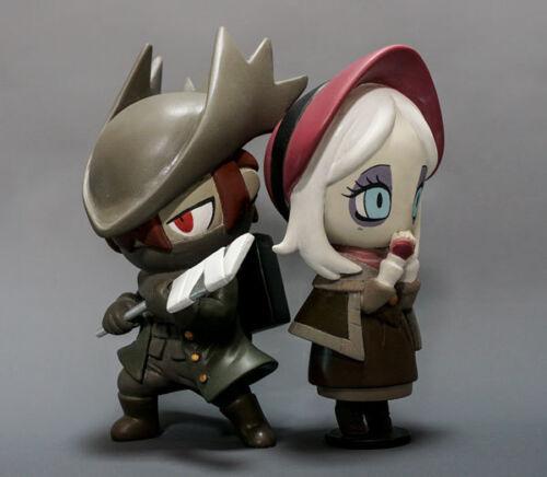 Bloodborne Hunter /& Doll Djura /& Eileen the Crow Lady Maria NIB 5 Figure Set