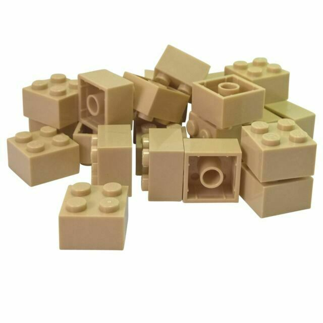 LEGO Lot of 12 Dark Bluish Gray 2x2 Bricks Building Parts and Pieces