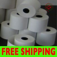 Credit Card 2 1/4 X 50' Thermal Paper Rolls Nurit 8000 - 50 Rolls/case