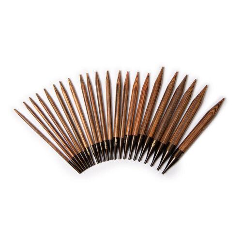 "KnitPro /""Ginger/"" Interchangeable Circular Knitting Needle Tips"