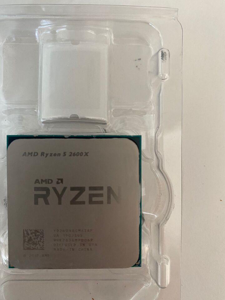 CPU, Amd, Ryzen 5 2600X