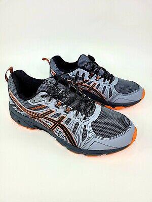 Asics Gel - Ventures Shoe Men's Size 8.5 A670919YV Gray &Orange
